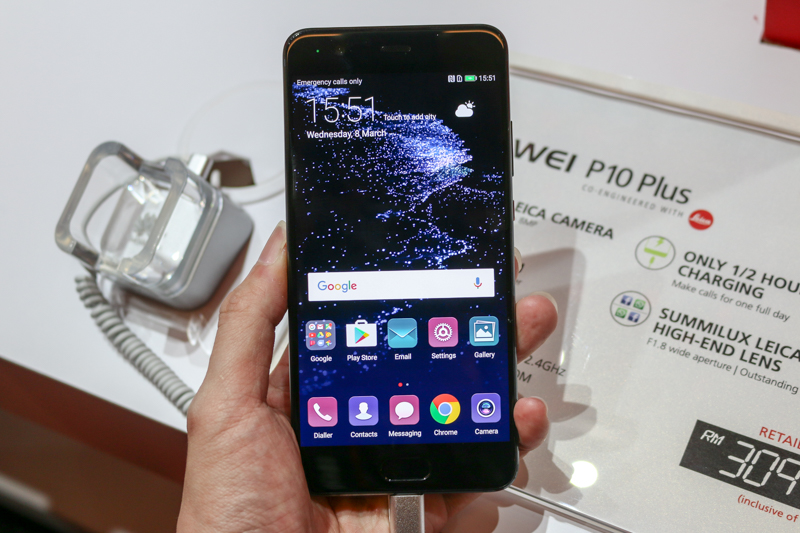 The Huawei P10 Plus.