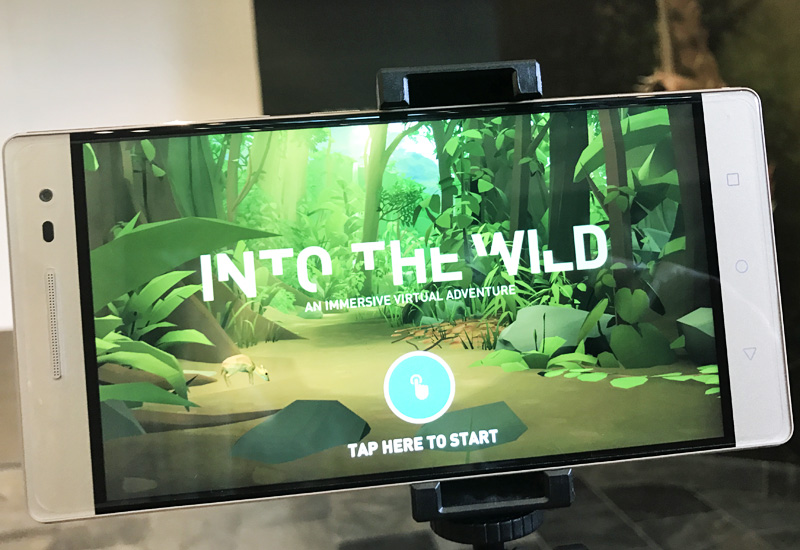 Lenovo recently erected a free-of-charge and permanent exhibit at the ArtScience Museum, showcasing the AR capabilities of their Phab 2 Pro.