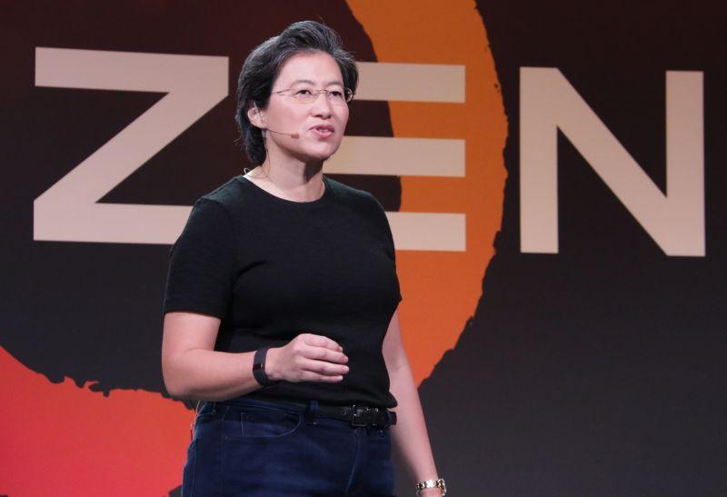 Dr. Lisa Su, CEO of AMD, during the AMD Tech Day at San Francisco, California.