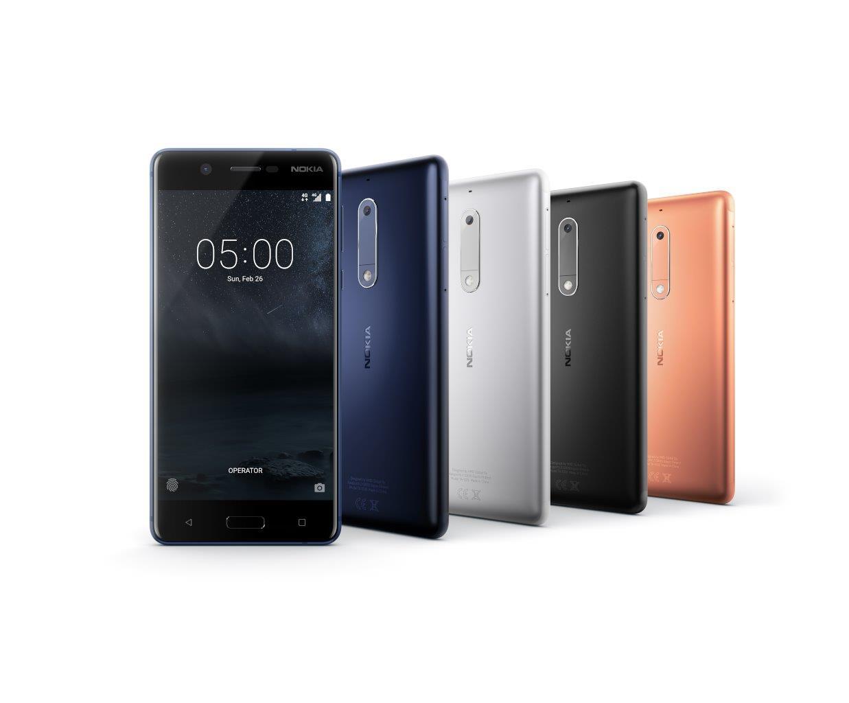 android, hmd global, mwc, mwc 2017, nokia 3, nokia 3310, nokia 5, nokia 6