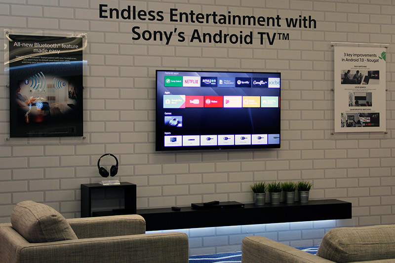 Sony Bravia Android Tv Samsung Tvs Video Wall