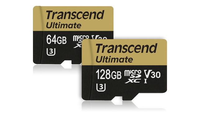 Transcend Ultimate microSD cards
