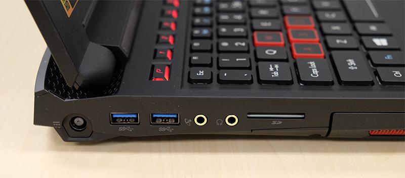 Acer Predator 15 ports