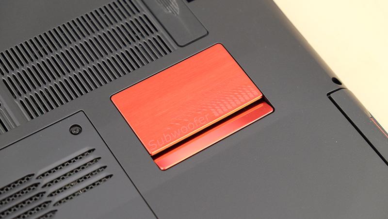 Acer Predator 15 subwoofer