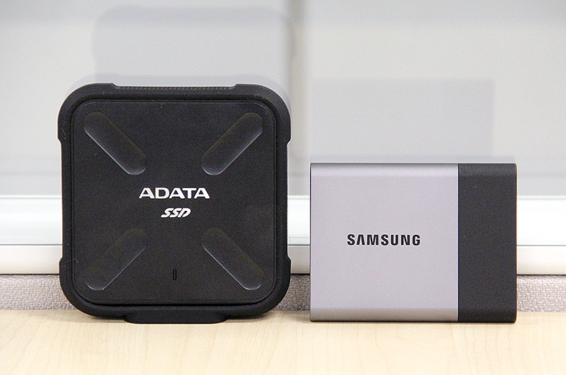 ADATA's new SD700 takes on Samsung's T3 in this portable external SSD shootout.