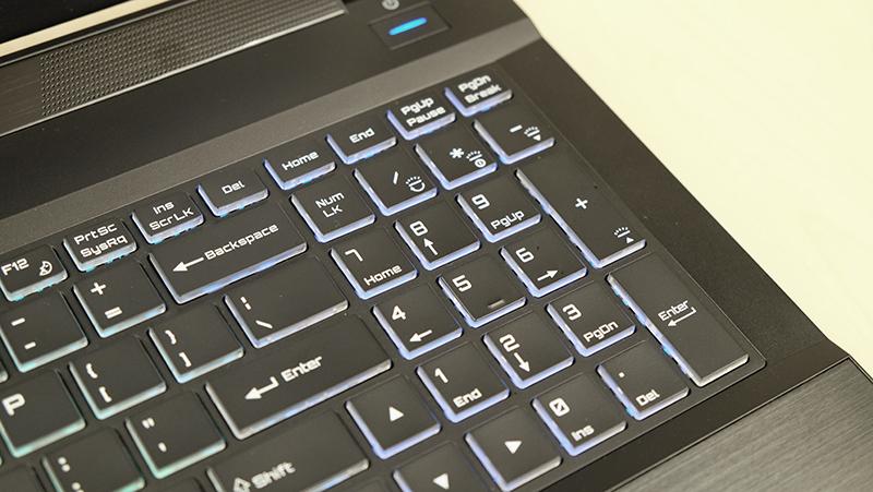 Aftershock S-15 keyboard