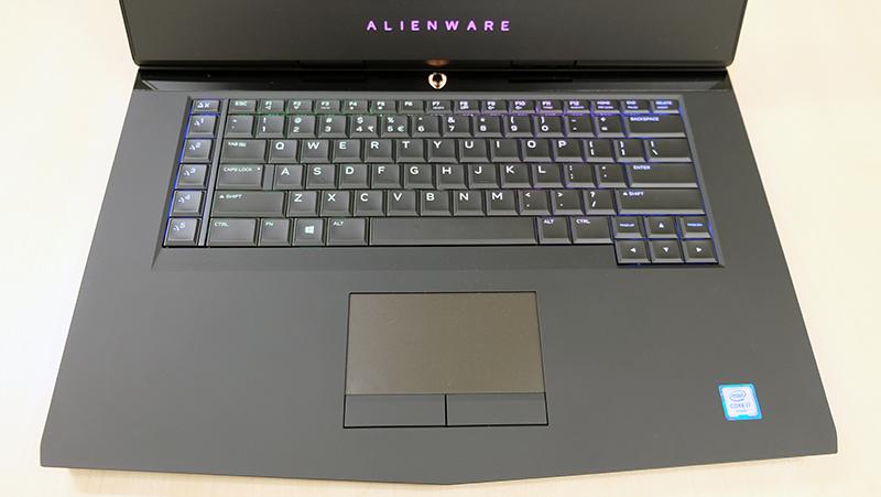 Alienware 15 keyboard