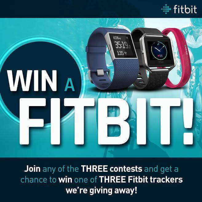 fitbit, fitbit surge, fitbit blaze, fitbit flex 2, contest, facebook, instagram, smart-track