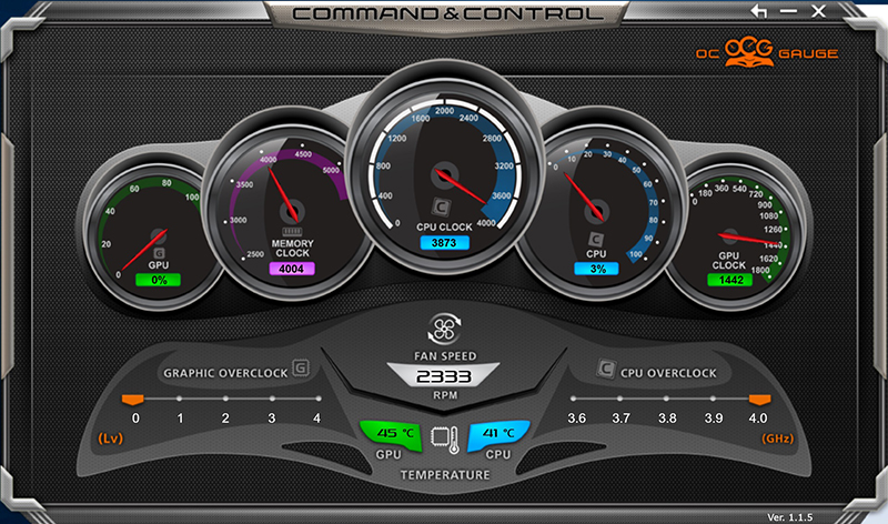 Aorus Command and Control