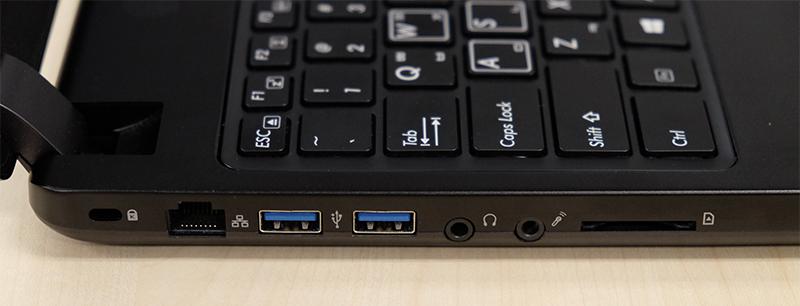 Gigabyte P35X v6 ports