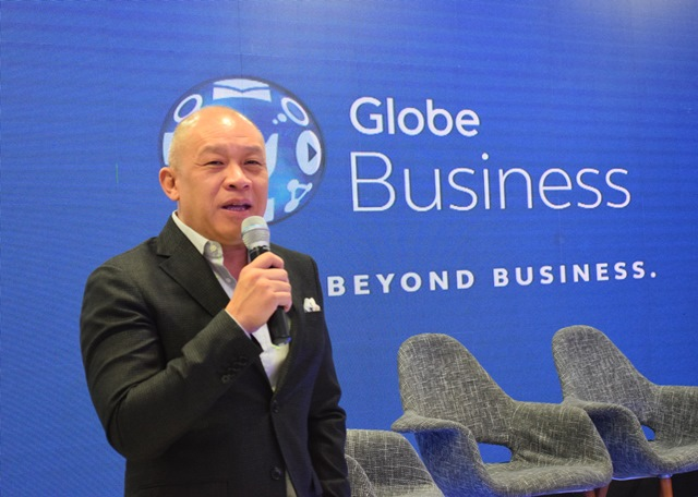 Ernest Cu, Globe President and CEO