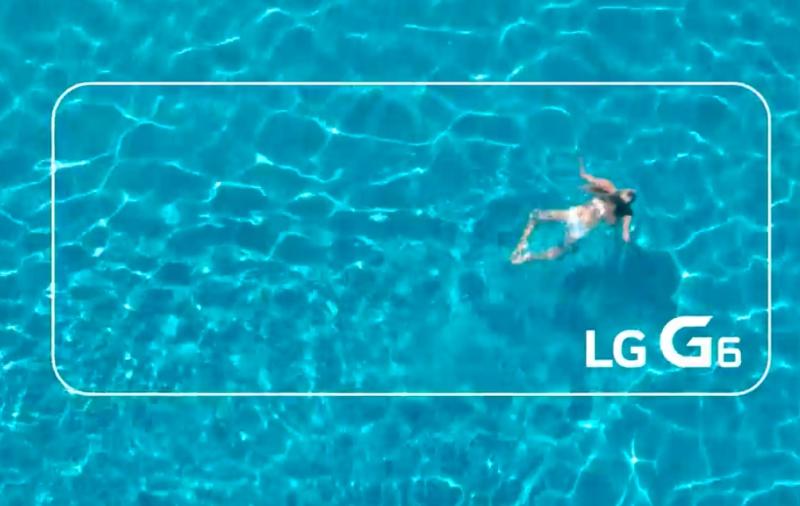 Screenshot from LG: G6 Pool (YouTube)