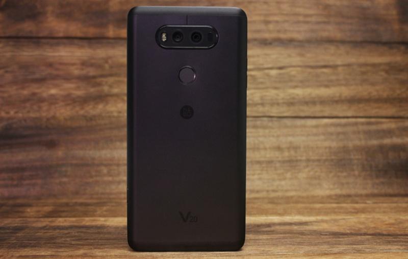 The LG V20.