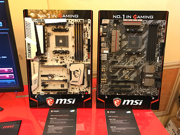 MSI AM4 motherboard