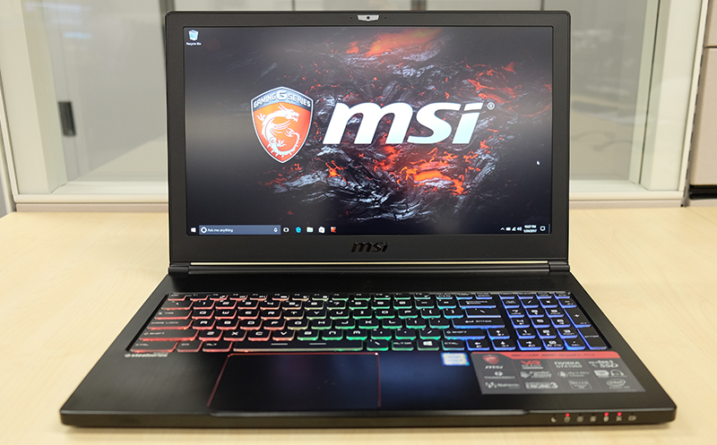 A closer look : MSI GS65 Stealth Thin 8RF notebook review: Copper