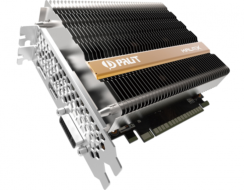 Palit now has a passively-cooled GeForce GTX 1050 Ti in the