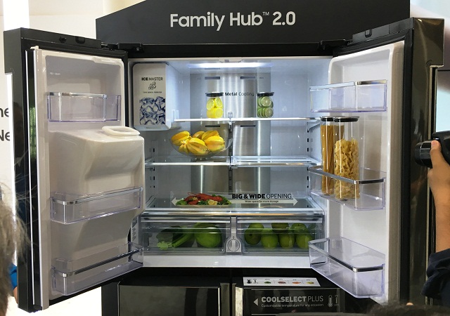 samsung, family hub 2.0, refrigerator, smart home, asean