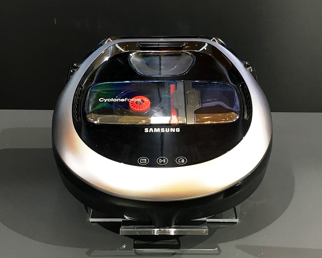 samsung powerbot. the slimmer, smarter, and more powerful samsung powerbot vr7000. powerbot