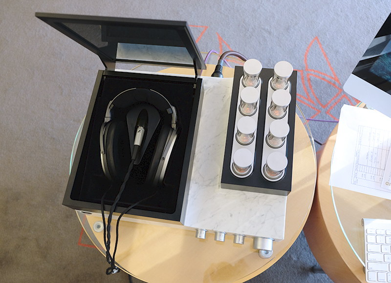 €50,000 gets you almost everything you need. Headphones, amplifier and DAC. Just add your own source and you are good to go.