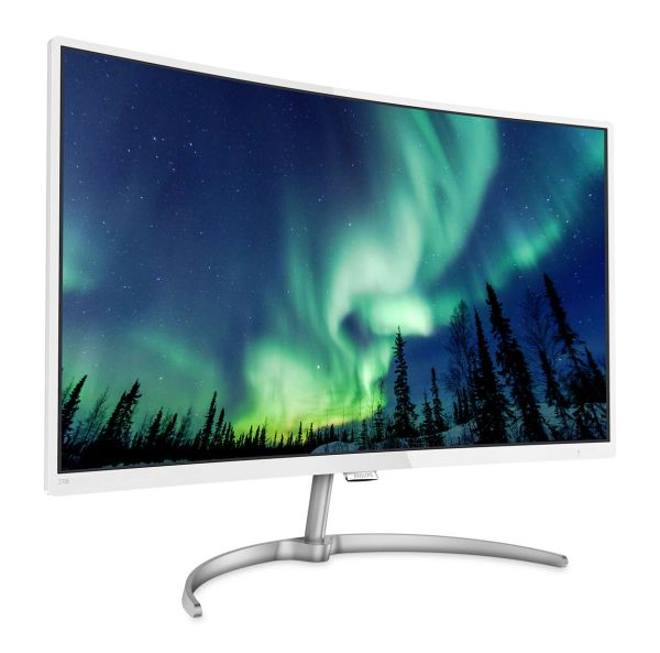 "Sporting a a 27"" display, the 278E8QJAW presents users with vivid pictures while limiting eye strain. <br> Image Source: Philips"