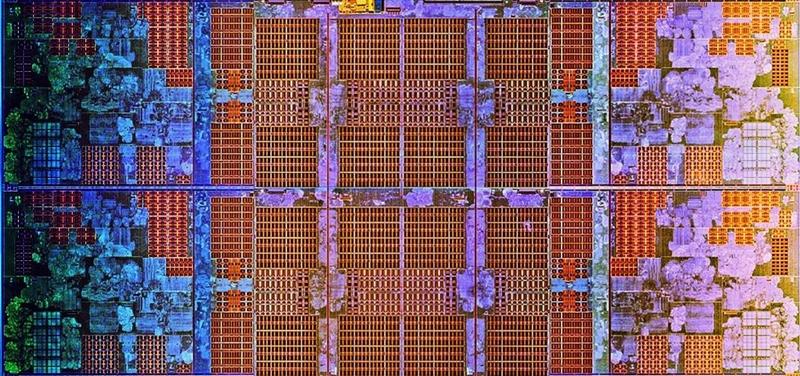 A die shot of the AMD Zen CPU. (Image source: AMD via Ars Technica)