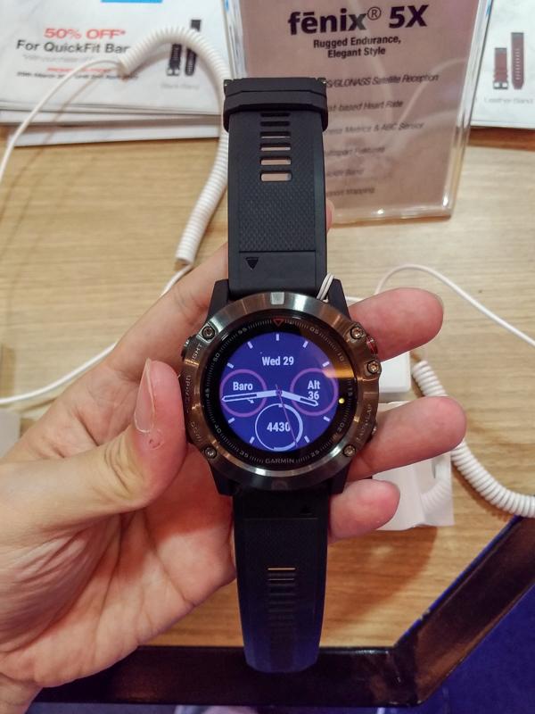 Garmin fēnix 5, fēnix 5S and fēnix 5X launched in Malaysia