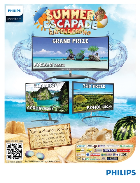 philips monitors, summer escapade raffle promo, monitor, hardwarezone, hwm, philippines