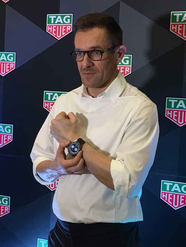 tag heuer, connected modular 45, smartwatch
