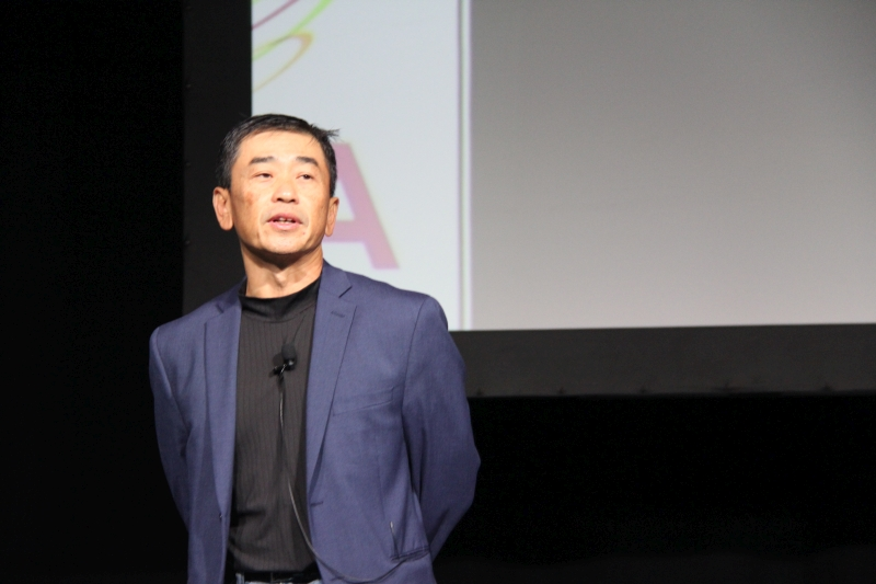 Dr. Simon See, Chief Solution Architect of NVIDIA, during his keynote presentation at IoT Asia 2017.