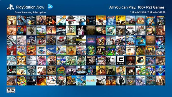 ps4 play now game list