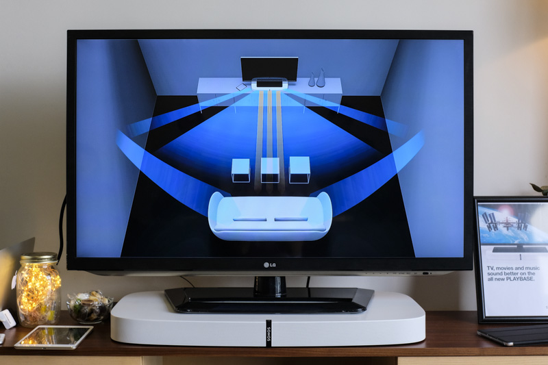 First Looks At The Sonos Playbase Park Your Tv Over This