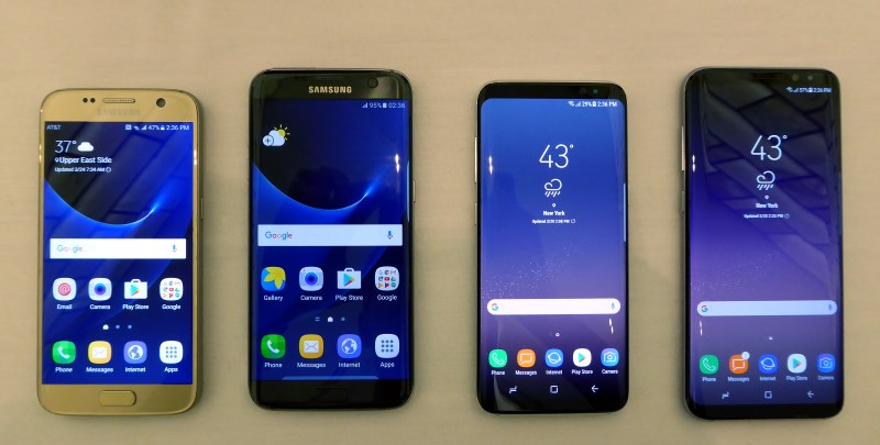 Infinity Display : First looks at the Samsung Galaxy S8 ...