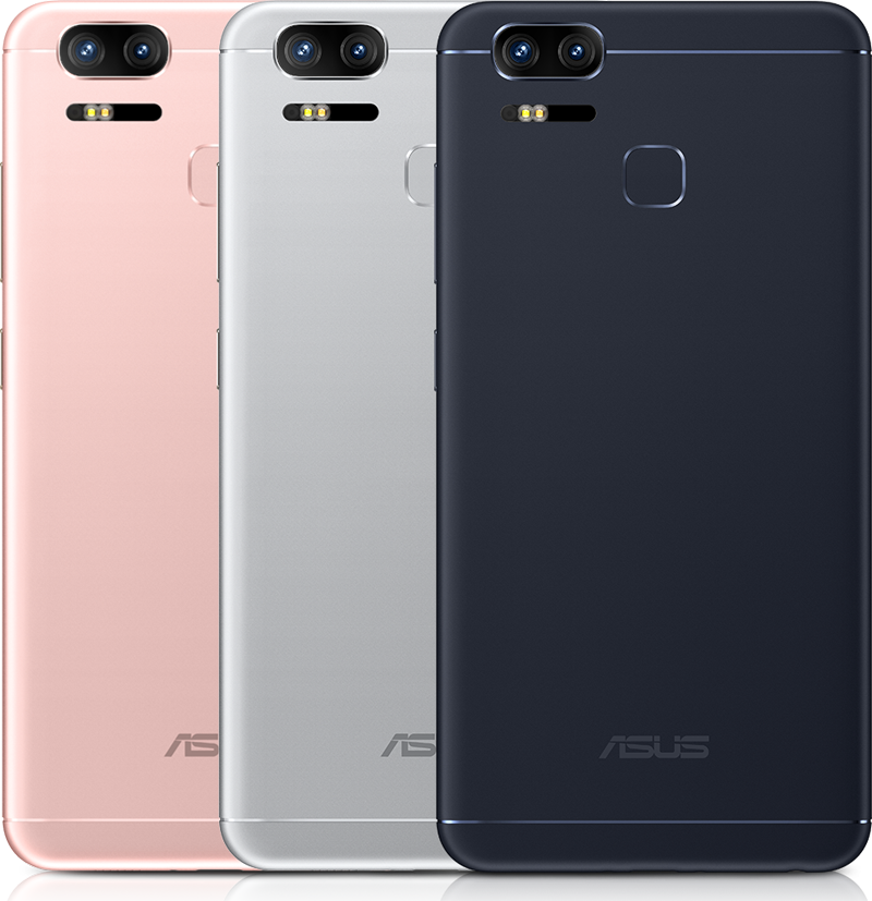 The ASUS ZenFone 3 Zoom is currently only available in Navy Black. It will be available in colors of Rose Gold and Glacier Silver in the near future.