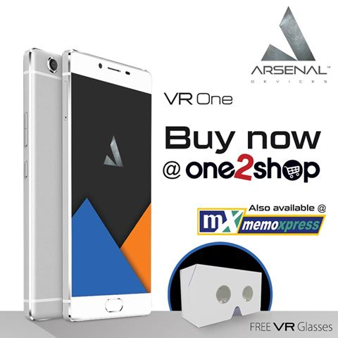 arsenal vr one, arsenal devices, topstrasse, one2shop, e-commerce, torque, torque droidz, torque ego, sm city, facebook