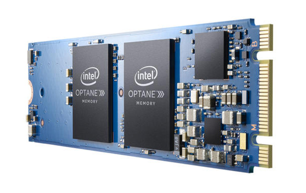 Intel Optane Memory only comes in an M.2 form factor for now.
