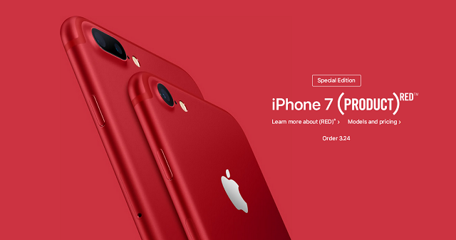 iphone, apple, mobile phones, smartphones, ios, iphone 7, iphone 7 plus, product(red)