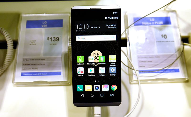 The 5.7-inch LG V20 boasts a dazzling array of high-end unique features including the world's first 32-bit quad Hi-Fi DAC, speakers tuned by B&O, professional-level video and audio manual recording controls, and no less than three cameras and two displays. Get one for S$139 at Starhub when you sign up for a 4G 4 plan at $62.90/month and get a free battery pack and LG 5,200mAh powerbank.