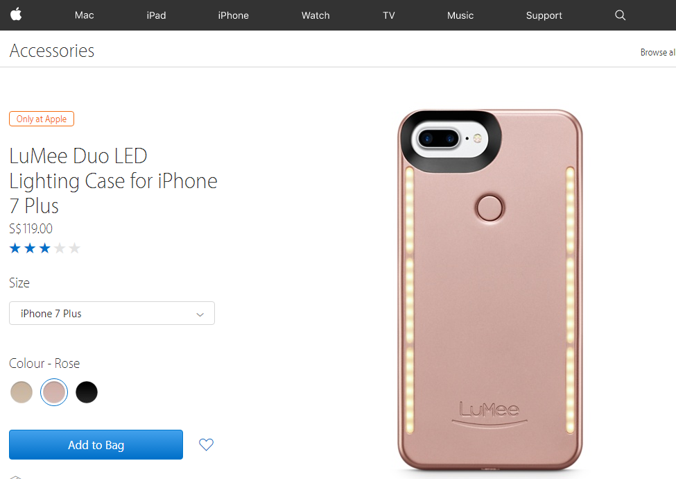 huge selection of 8cc88 0f7c2 LuMee Duo - iPhone case for double-sided LED illumination launches ...
