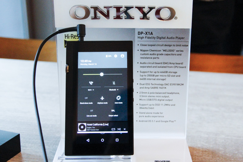 onkyo x1a. the dp-x1a also features a standalone mode which is meant to cut all sources that might create digital noise and as byproduct, affect sound. onkyo x1a i