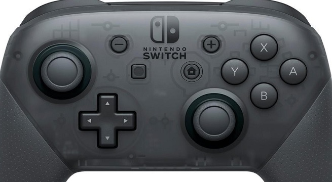 There's a secret message hidden in the Nintendo Switch Pro