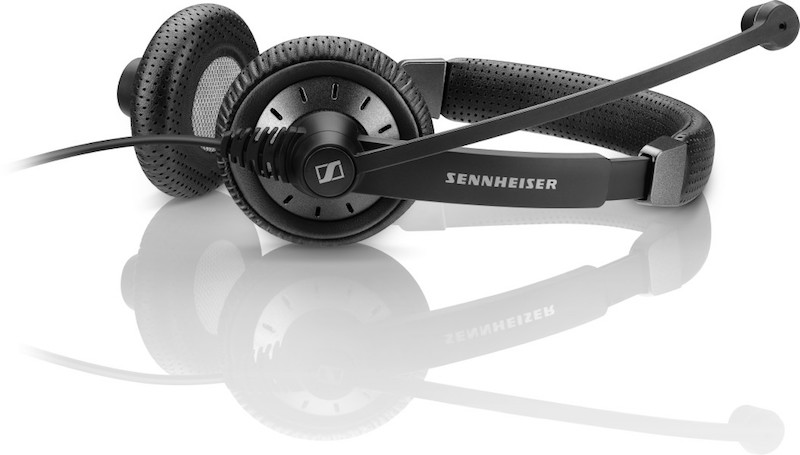 The UC-optimized SC 75 USB CTRL is a wired, dual-sided headset with 3.5mm jack and USB connectivity.