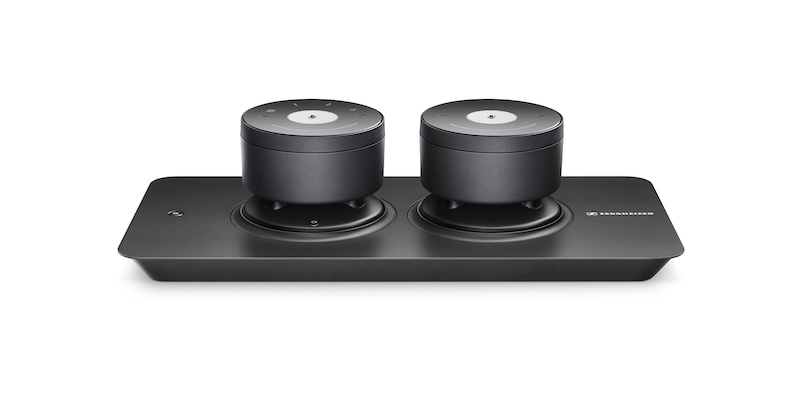 The Tray-M set comes with one master unit and an accompanying satellite unit.
