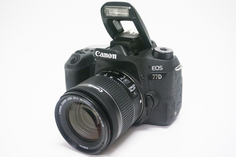 Design and handling: Canon EOS 77D : Mid-range DSLRs compared: Nikon