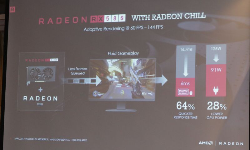 AMD announces its refreshed Radeon RX 500 series graphics