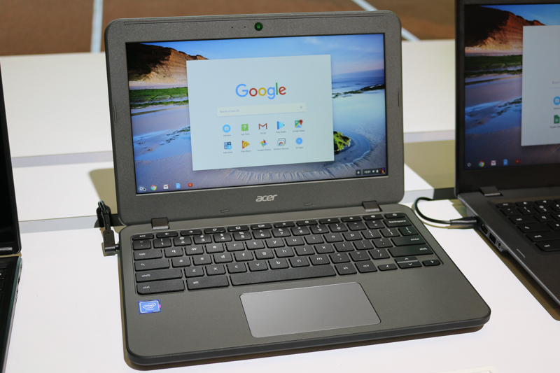 The Acer Chromebook 11 N7.