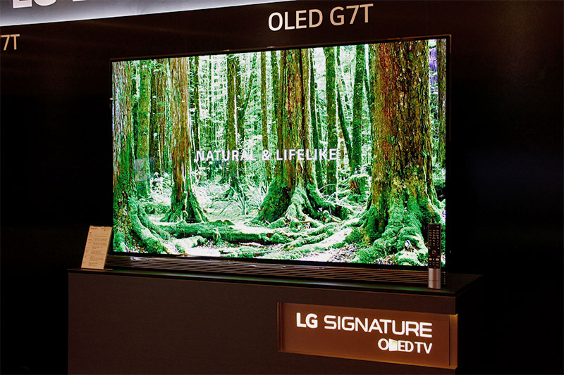 The Signature G7T looks just like the G6T from last year, which is to say it still looks stunning.
