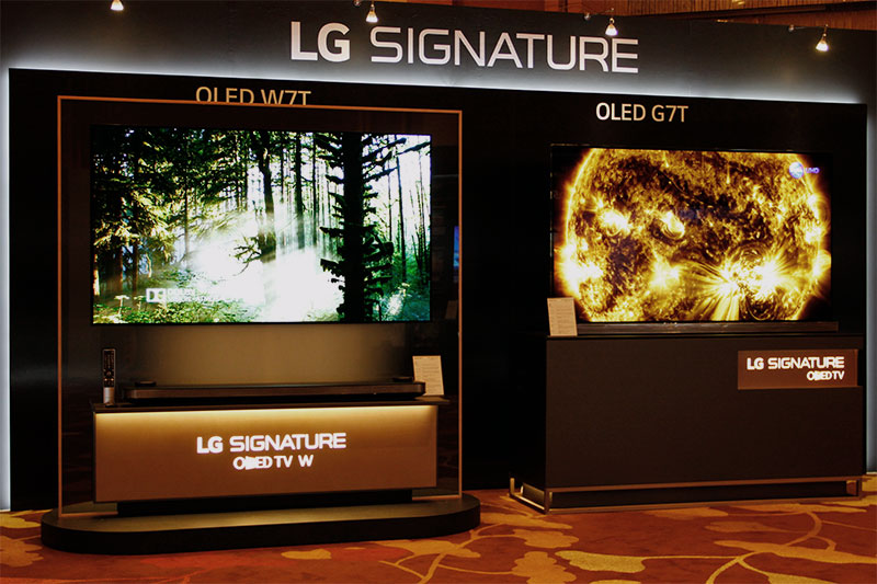 To W7T or to G7T, that's the LG Signature OLED TV question.