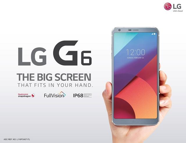 lg g6, globe telecom, flagship, smartphone, netflix, hooq, spotify, plan 1499, jay won
