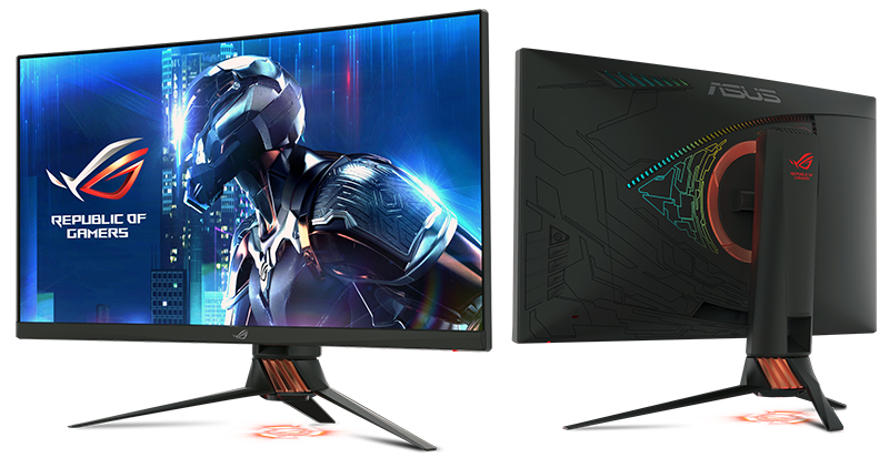 ASUS ROG Swift PG27VQ. (Image Source: ASUS)