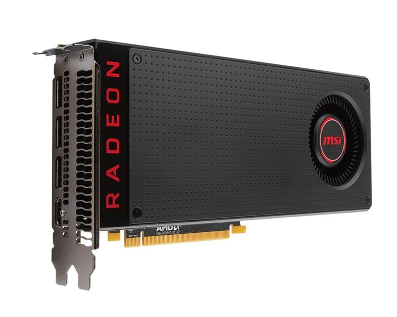 The MSI Radeon RX 580 8G. (Image source: MSI)
